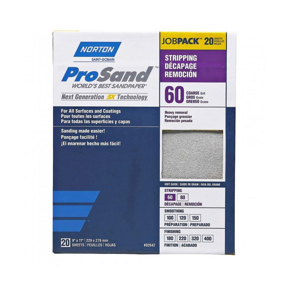 Norton ProSand 9 in x 11 in Sanding Sheets