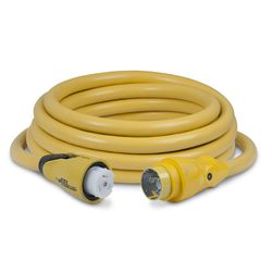 50A 125V EEL Cord set Yellow