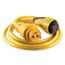 30A 125V EEL ShorePower Cordsets 12, 25, 50 in Yellow