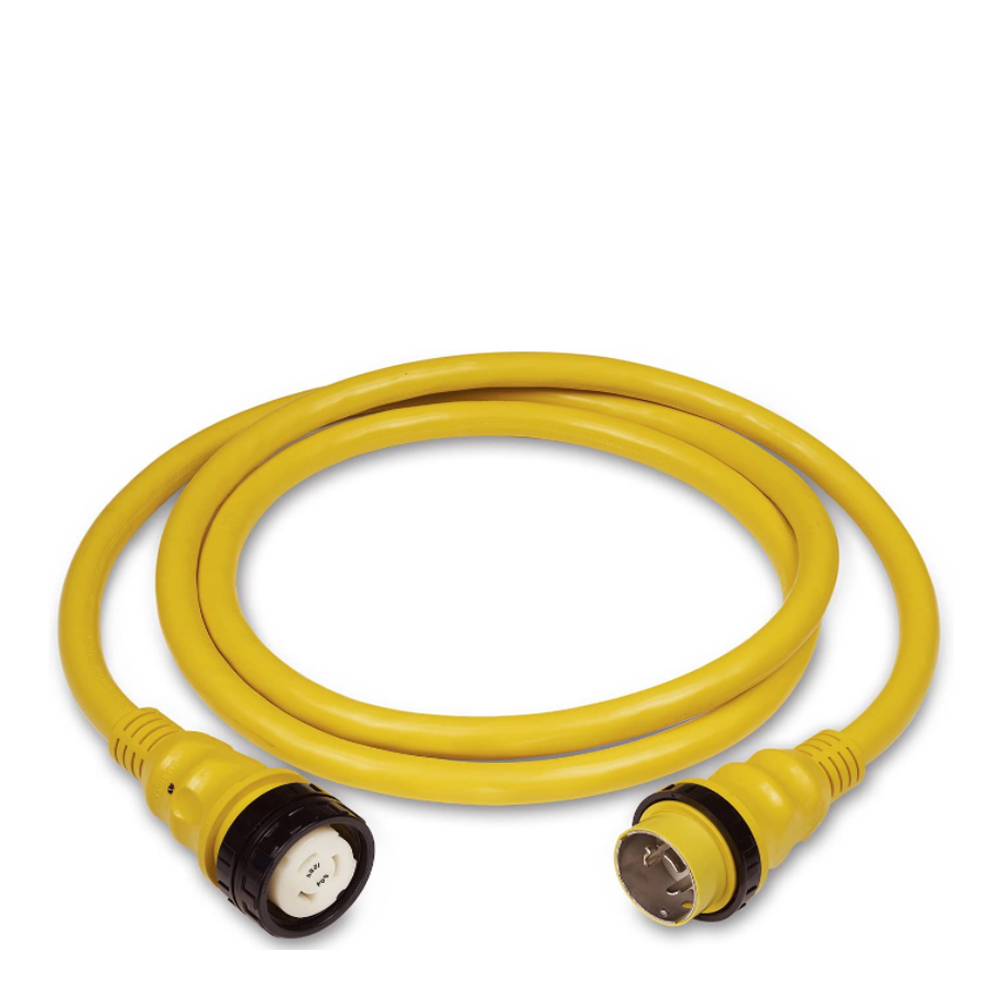 Marinco 50A 125/250V PowerCord Plus Cordsets