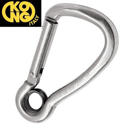 asp 64245 kong 537 stainless steel harness snap hooks with eye stainless steel hardness at virtualis.co