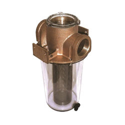 Groco ARG Series Raw Water Strainers with Stainless Steel Basket