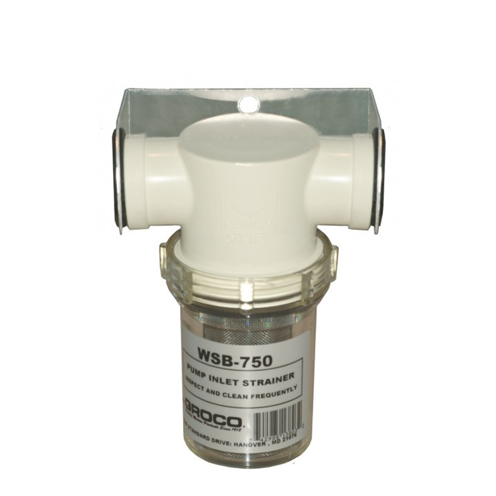 Groco Pump Inlet Water Strainers