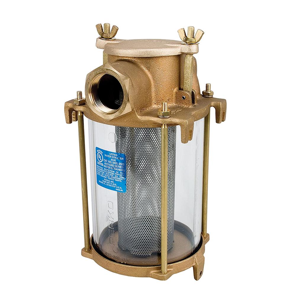 Perko Bronze Intake Water Strainers