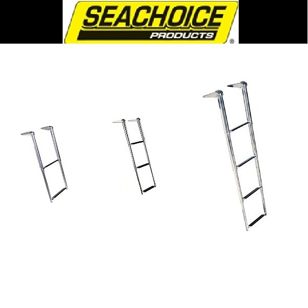 Seachoice Over Platform Telescoping Ladder