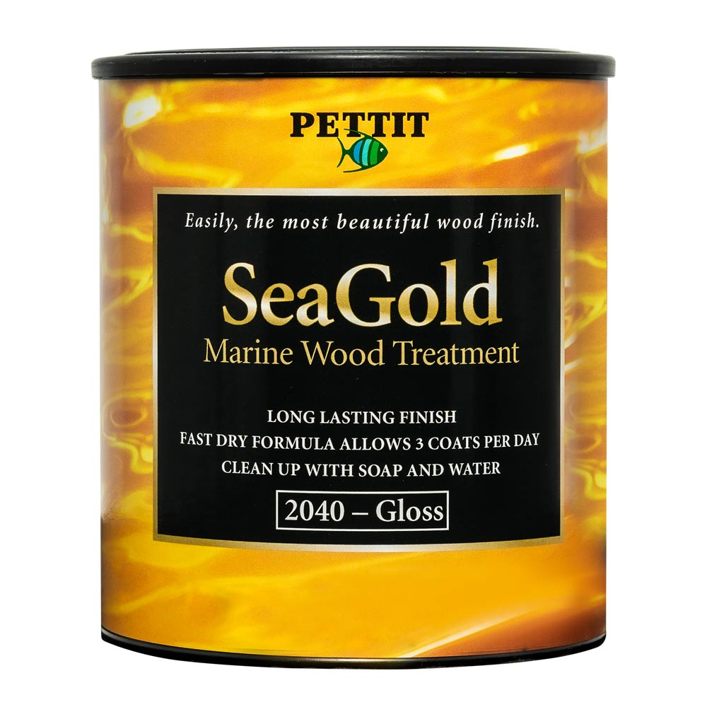 Pettit SeaGold Marine Wood Treatment