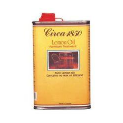Circa 1850 Wood Lemon Oil