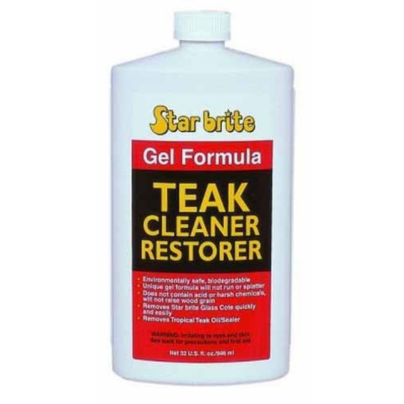 Star Brite Gel Teak Cleaner & Restorer