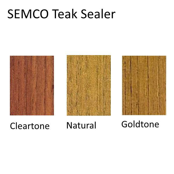 Semco Teak Wood Sealer Colors, Shades