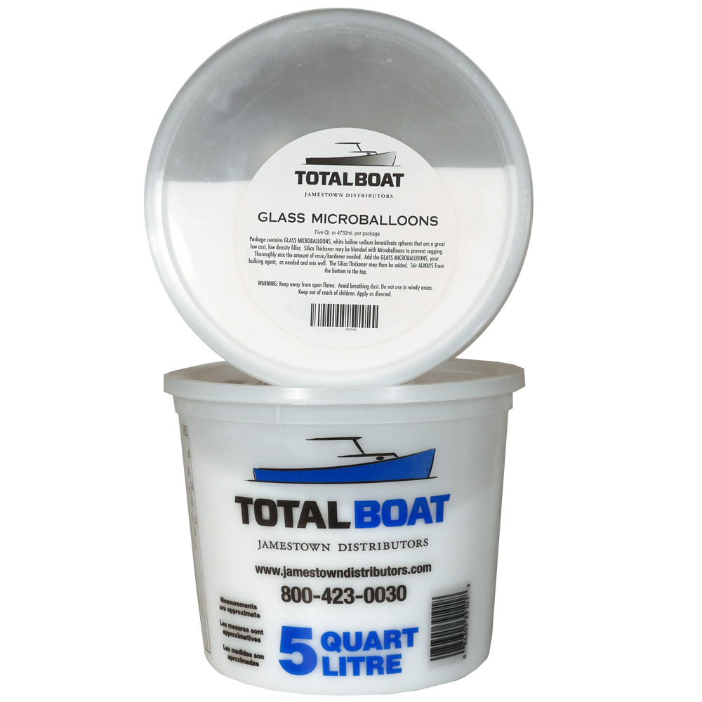 TotalBoat Glass Microballoons 5 Quart Size