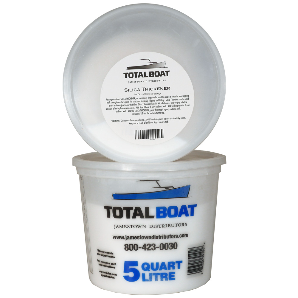TotalBoat Silica Thickener also known as Cabosil 5 Quarts