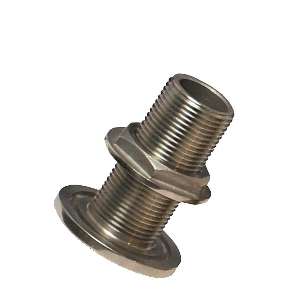 Groco 316 S/S Thru-Hull Fitting w/ Nut