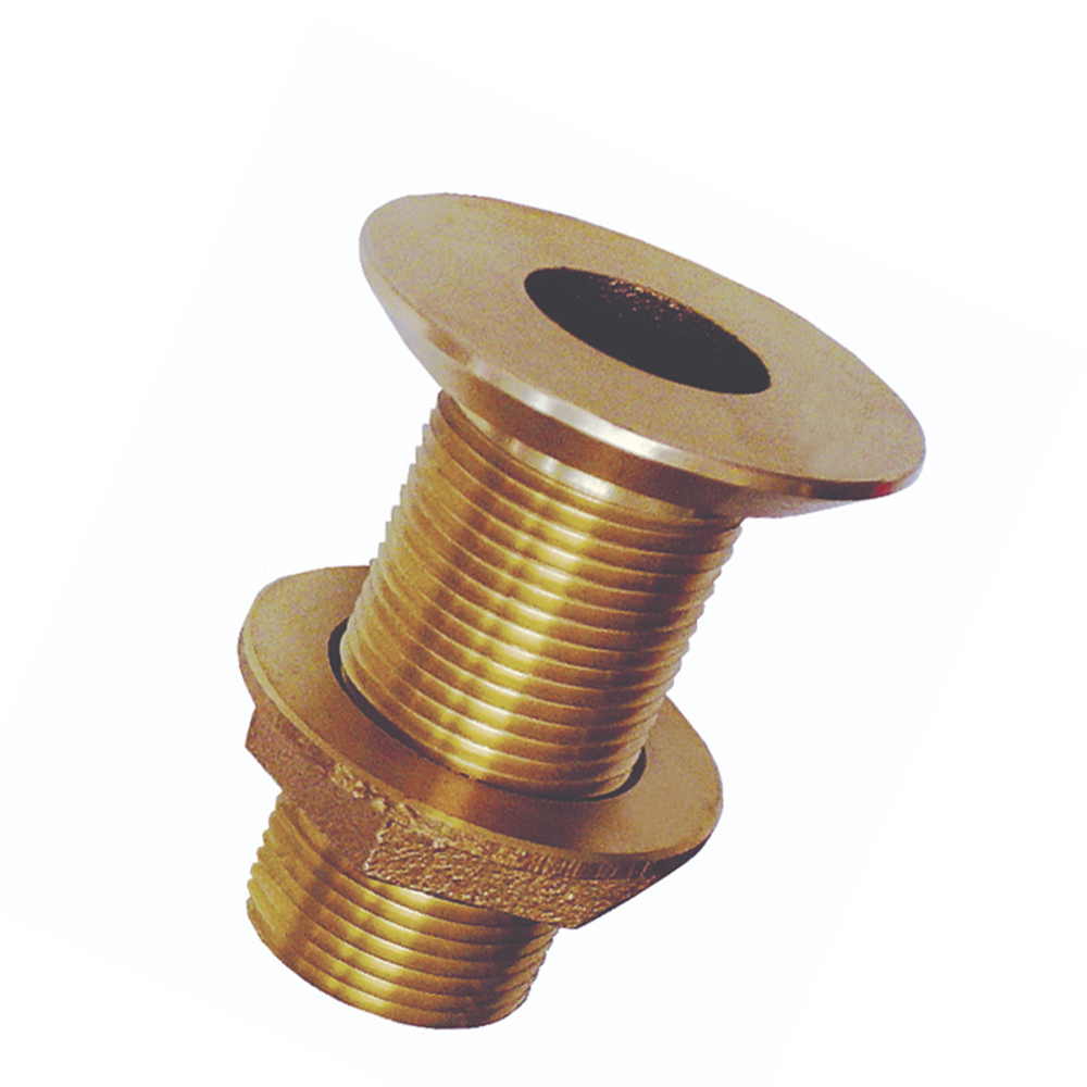 Groco Flush Mount Bronze Thru-Hull Fittings