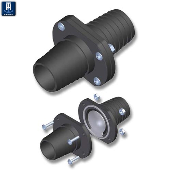 TH Marine Inline Scupper