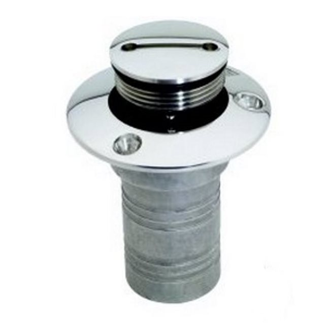 Attwood 1-1/2 inch 316 Stainless Steel Deck Fuel Fill