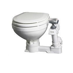 Johnson Pump AquaT Compact Manual Toilet