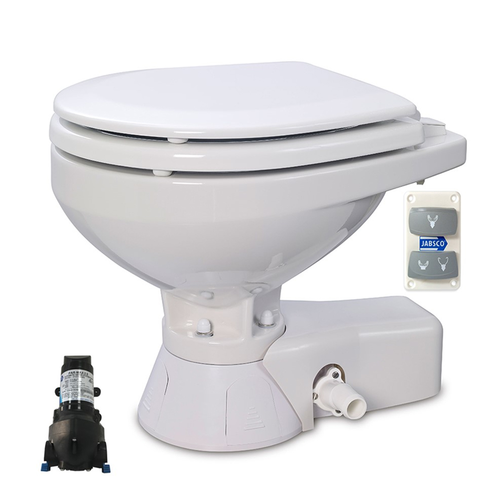 Jabsco Quiet Flush Electric Toilets