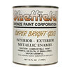 Sheffield Super Bright Gold Metallic Paint Pint