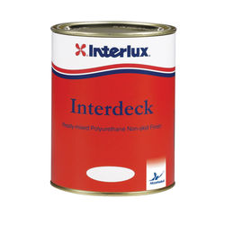 Interlux interdeck non skid deck coating for Exterior polyurethane for decks