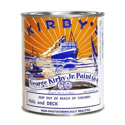 Kirby Topside Marine Paints Standard Colors
