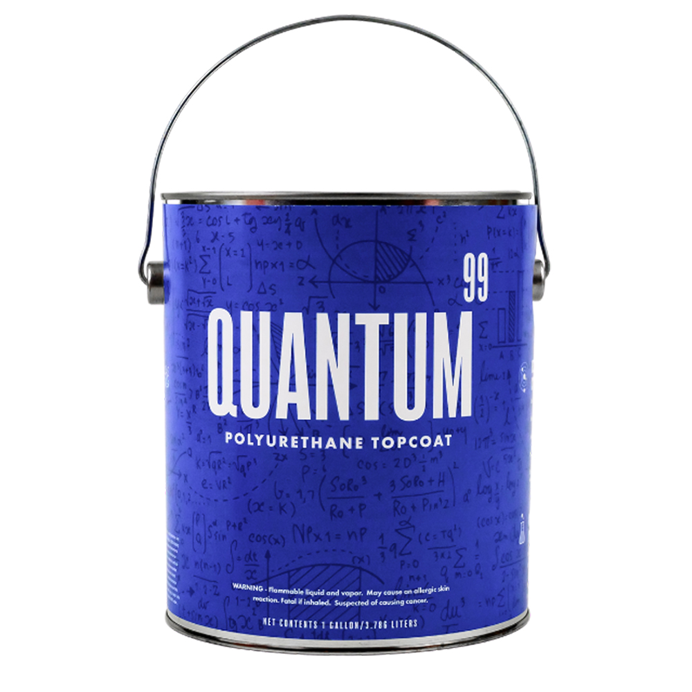 Quantum 99 Polyurethane Topcoat Base Gallon Jug