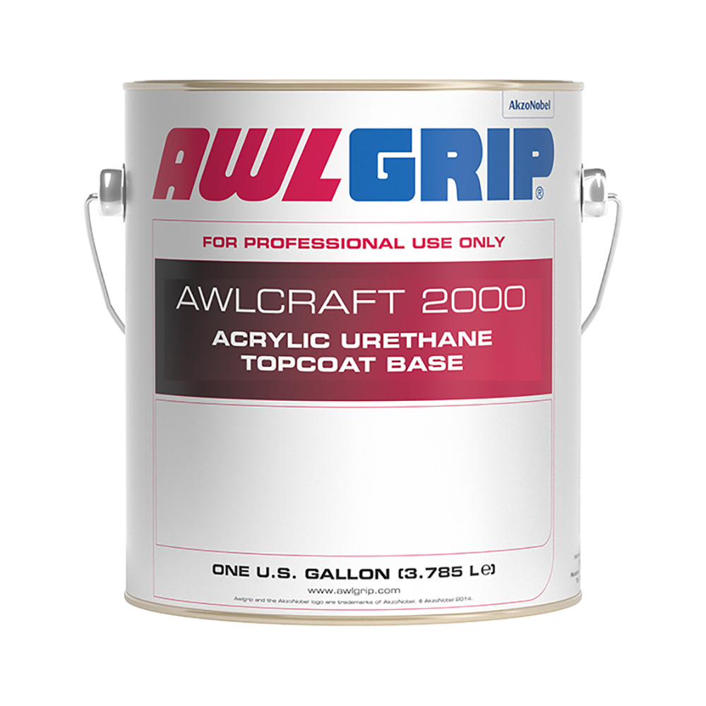AwlCraft 2000 Acrylic Urethane Topcoat Base Gallon