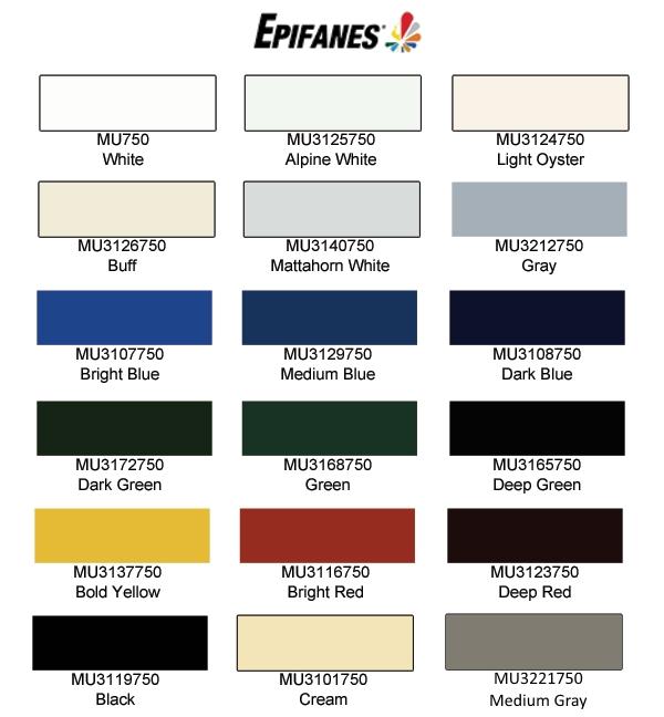 Pettit paint color chart numberedtype - Jamestown blue paint color ...