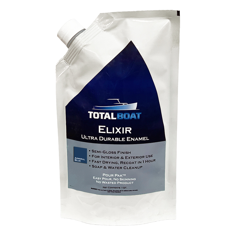 TotalBoat Elixir Semi-Gloss Enamel Marine Paint