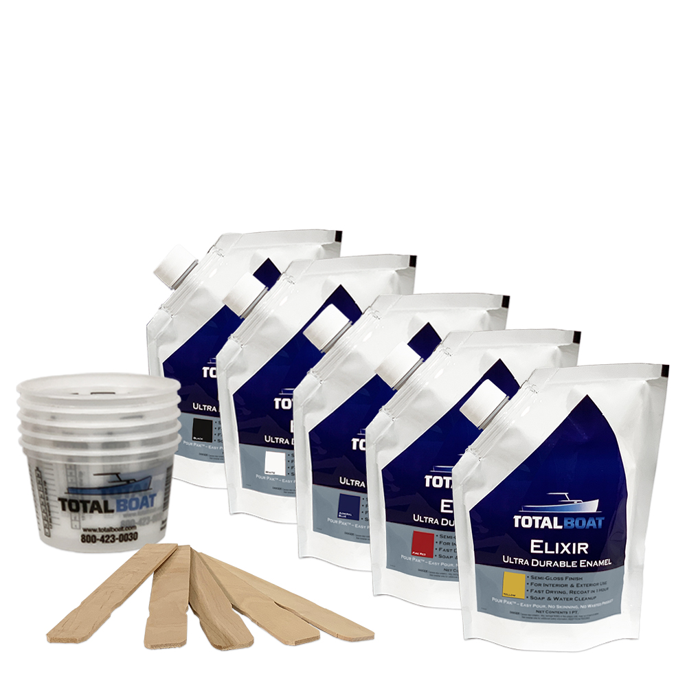 TotalBoat Elixir Enamel Paint Custom Color Kit