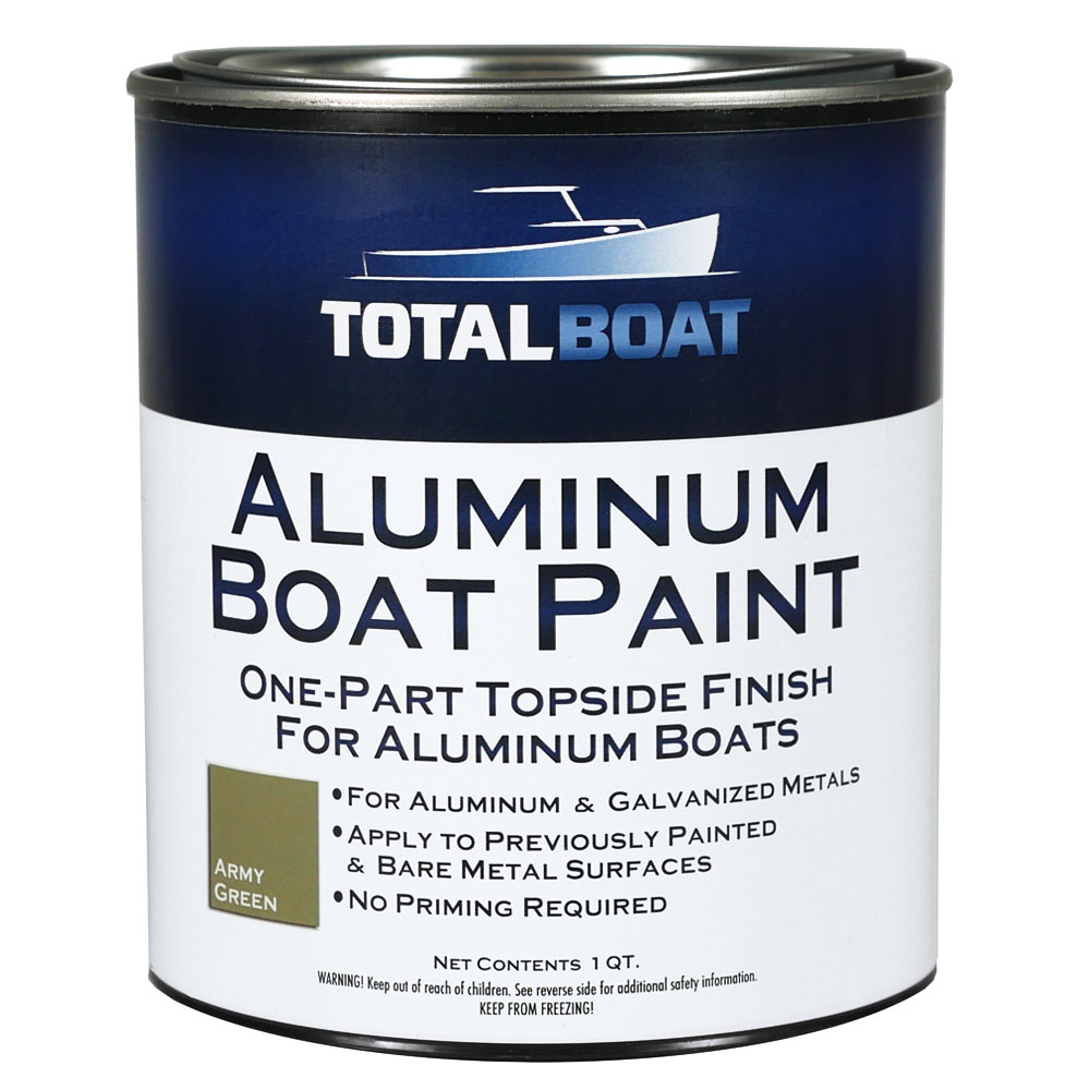 TotalBoat Aluminum Boat Topside Paint Quart