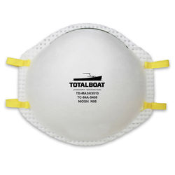 TotalBoat Disposable Particulate Respirators