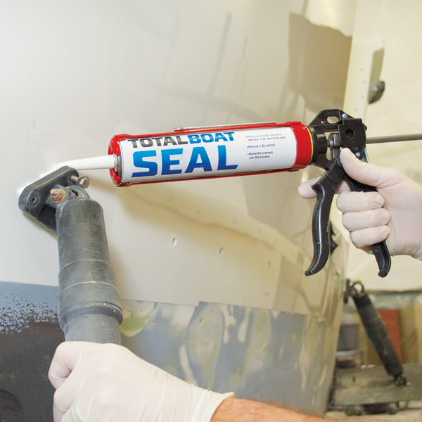 Applying TotalBoat Seal