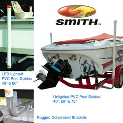 CE Smith Boat Trailer LED & Unlighted Guide Posts