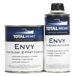 TotalBoat Envy 2-Part Clear Gloss Varnish Kit