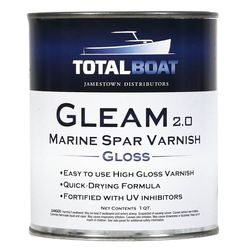TotalBoat Gleam 2.0 Marine Spar Varnish