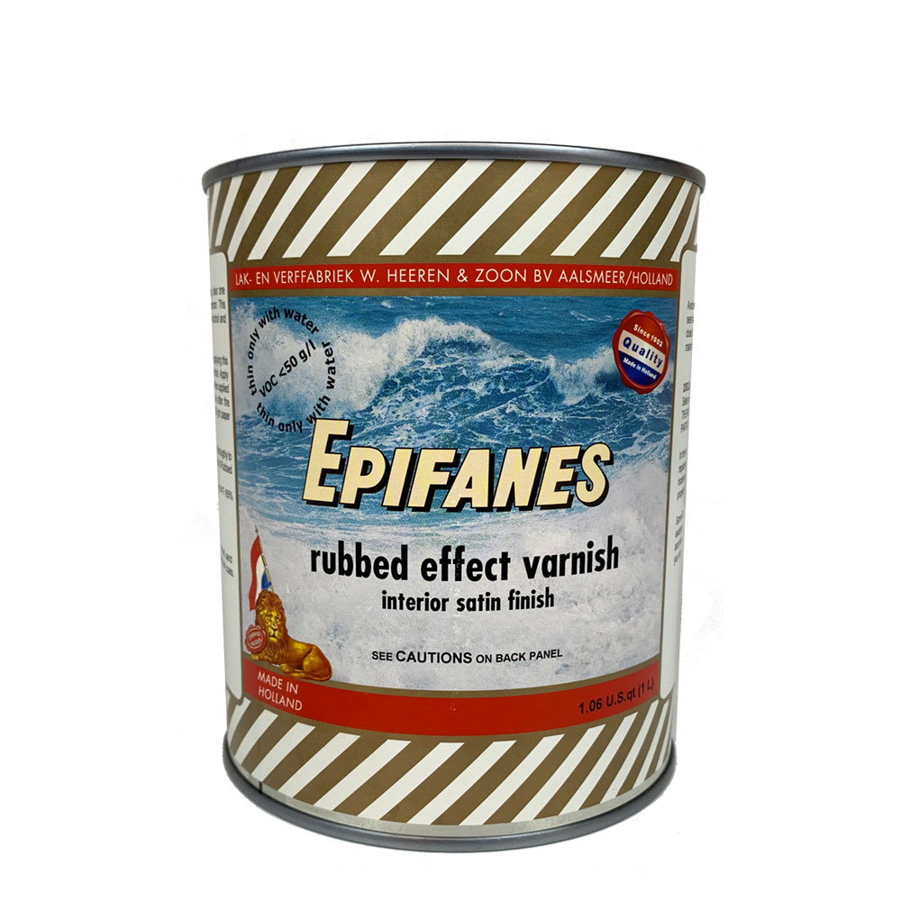 Epifanes Rubbed Effect Low VOC Satin Varnish