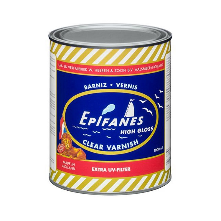 Epifanes Clear High-Gloss Marine Varnish