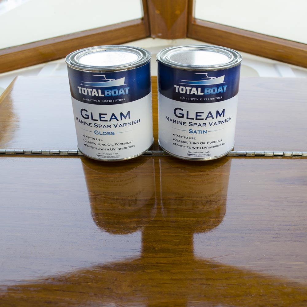 TotalBoat Gleam Gloss and Satin Marine Spar Varnish