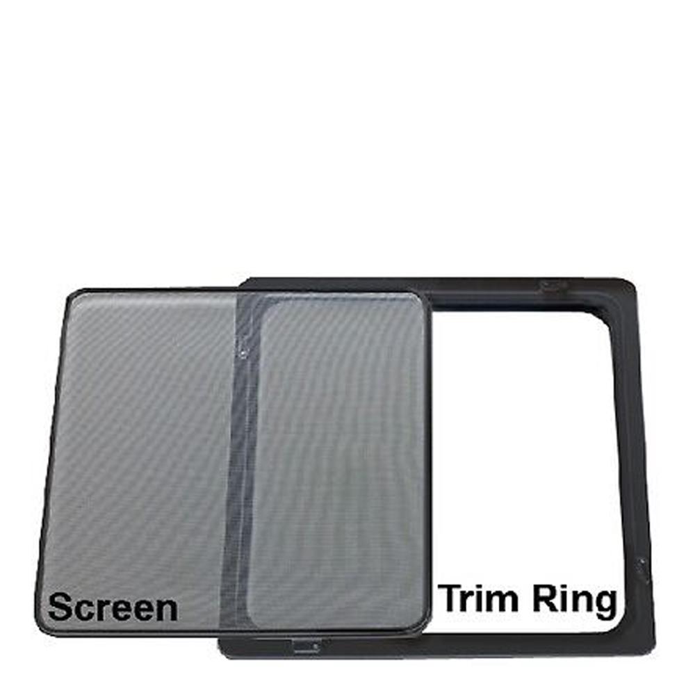 Bomar Hatch Trim Ring & Screen