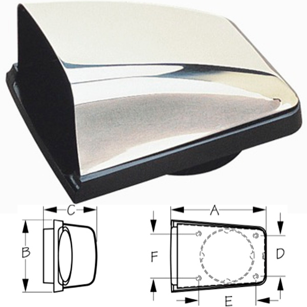 Seadog Stainless Steel Cowl Vents