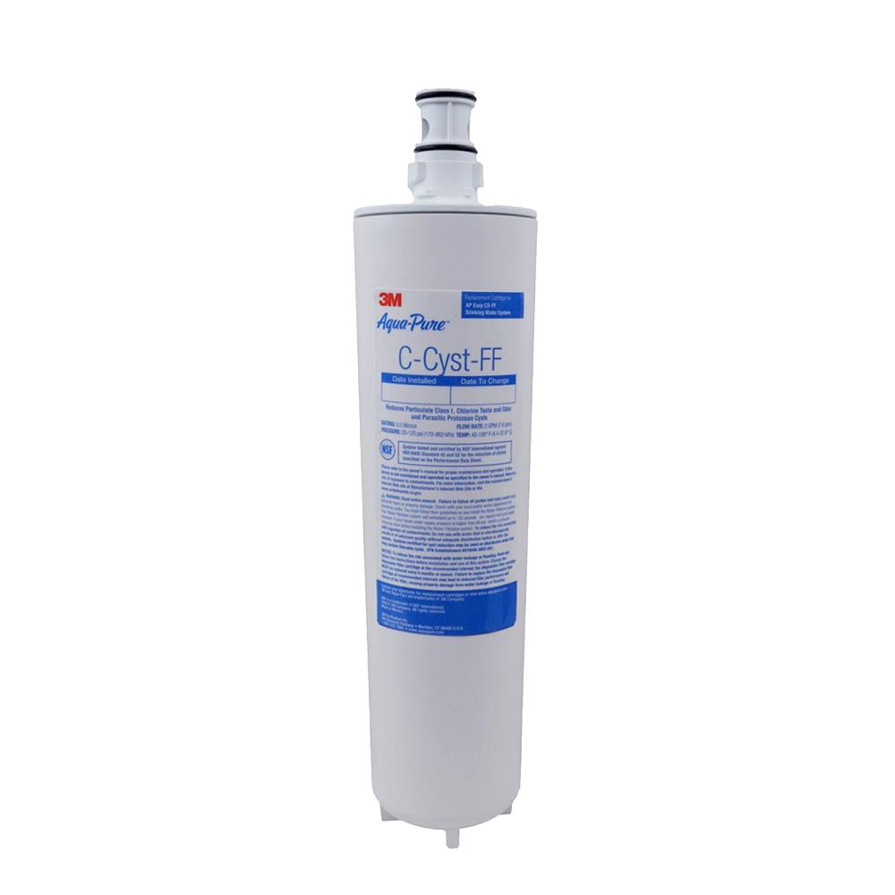 3M Aqua Pure AP Easy C Cyst FF Replacement Water Filter Cartridge