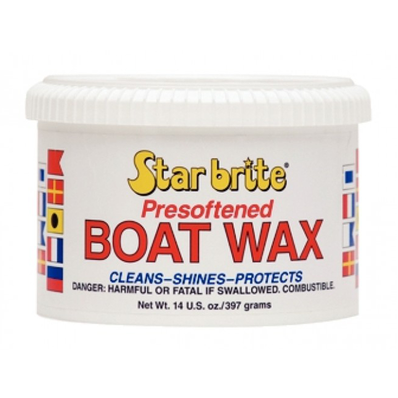 Star Brite Presoftened Boat Wax