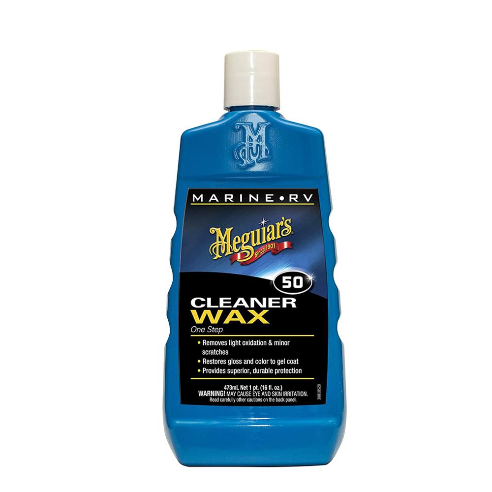 Meguiars Mirror Glaze One Step Cleaner Wax