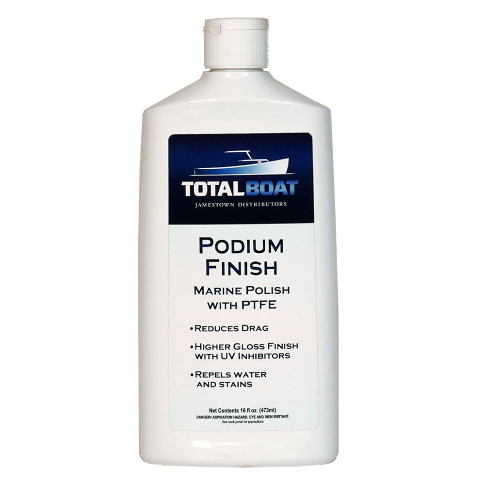 TotalBoat Podium Finish Marine Polish w/PTFE