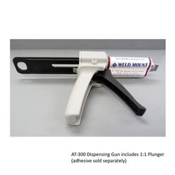 Weld Mount AT-300 Adhesive Dispensing Gun with 1 to 1 Plunger