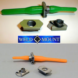 Weld Mount Floating Nut Plate