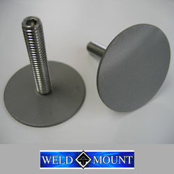 Weld Mount Large Stainless Steel Studs