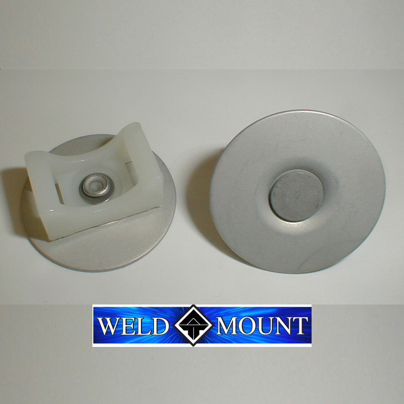 Weld Mount Aluminum Swivel Base Tie Mount