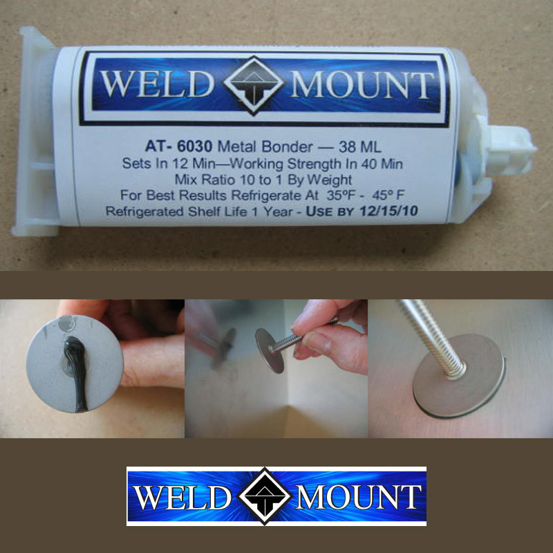 Weld Mount AT-6030 Metal Bonder Adhesive