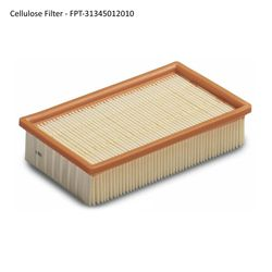 Fein Turbo I & II Vacuum Flat Filters (2014-up) - Cellulose Filter